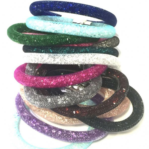 CLICK HERE FOR NEW! Starburst bracelet kits - made with sparkling resin crystals